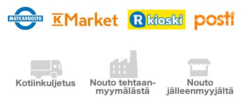 Allgero Suomi Shipment Methods