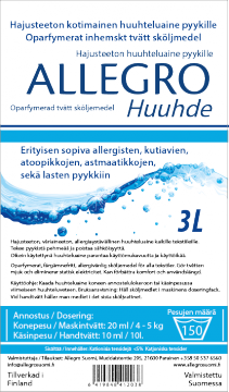 Allegro Fabric softener 3L