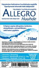 Allegro Huuhteluaine 750ml